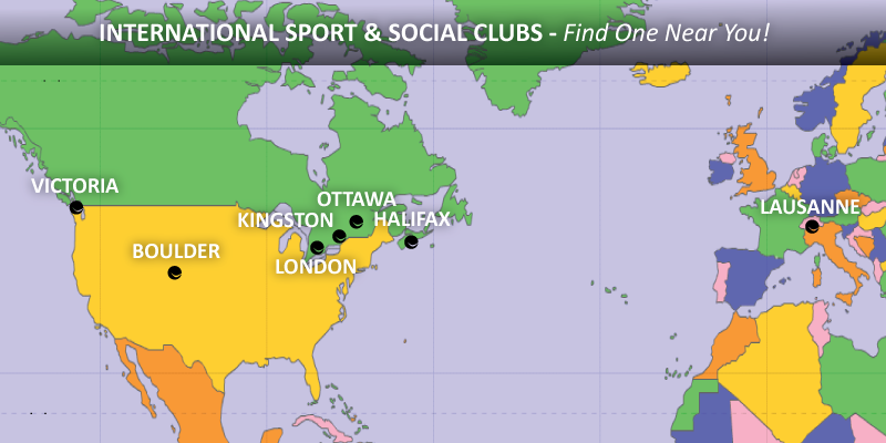 Sport Social Clubs Of Canada Forest City Sport Social Club - World maps canada