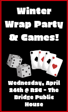 Winter Wrap Party & Games!