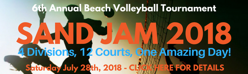 SAND JAM 2018 Beach Volleyball Tournament!